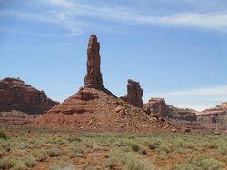 Valley of the Gods, close to Desert Rose Inn.