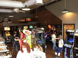 Flipper McGills Pinball Arcade Bar and Grill