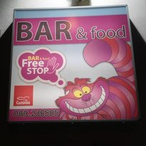 Free stop bar & food