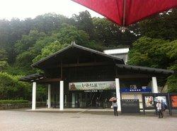 太宰府天満宮から九州国立博物館へと続くエスカレーター