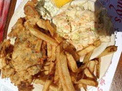 Soft Shell Crab Sandwich lunch