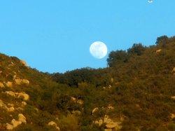 Moon over Escondido