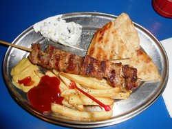 Greek Souvlaki Karvounaki
