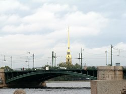 Birzhevoi (Exchange) Bridge