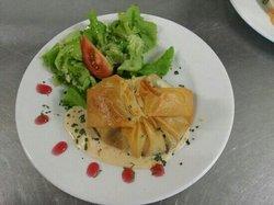 croustillant camembert andouille