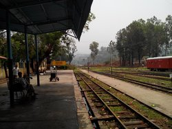 toy train station