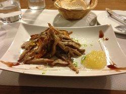 Secreto iberico. I dream about this dish. Spectacular.