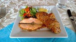 Salmon starter
