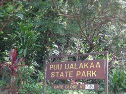 Tantalus Lookout Puu Ualakaa State Park