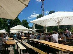 Biergarten im Schlossgarten