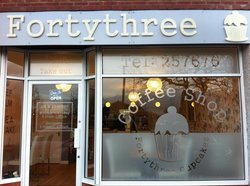 Fortythree coffee shop