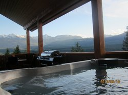 Hot Tub View-Mt. View chalet