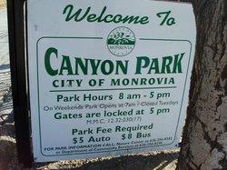 Monrovia Canyon Park
