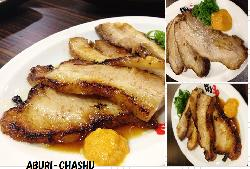 This is my best recommendation!! Aburi-chashu!!