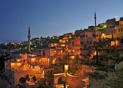 The view of the village and argos in Cappadocia hotel (68297691)