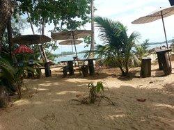 Bar along the beach