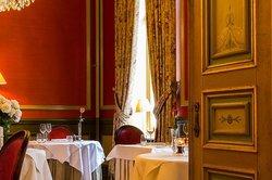 Menu Flavours of the region at restaurant 'Le Mystique'