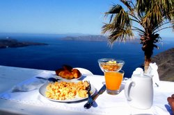 Breakfast with a view..