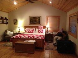 Cabin #9 Inviting Interior