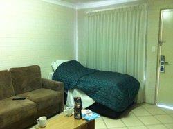 Single bed & window