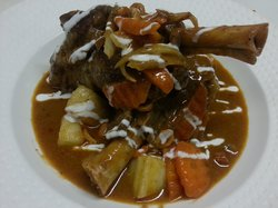 Massaman Lamb Shanks