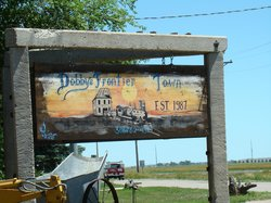 Dobby's Frontier Town - Front Sign