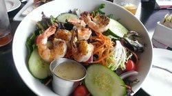 Salad with Grilled Shrimp