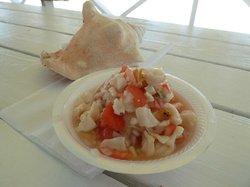Tony Macaroni's Conch Experience