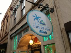 Island Time Premium Frozen Yogurt