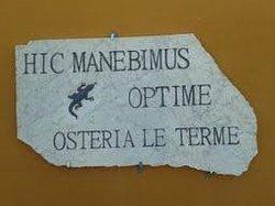 Osteria Le Terme