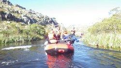 Rafting in Kogelberg nature reserve