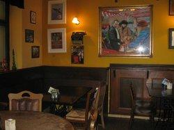 James Joyce Pub interior