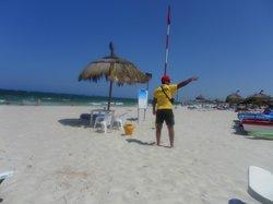 busy lifeguard