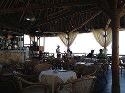 Bamboo Cafe Restaurant Sea Side Bar