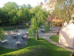 Der Grieche am Rosengarten