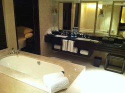 fabulous bath room facility