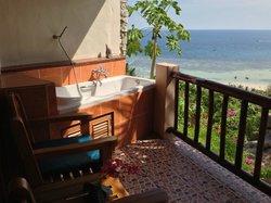 ванна на балконе - место для медитации