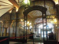 Bar del foyer del Palau de la Musica