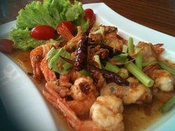 Shrimps w/ Tamarind Sauce
