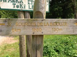 Source de la Bidouze