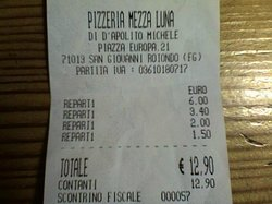 Pizzeria Mezza Luna di D'Apolito Michele