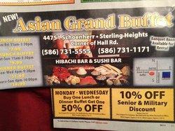 Asian Grand Buffet