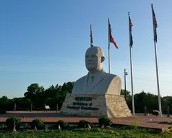 Eisenhower Veterans Monument