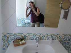 shameless selfie in bathroom