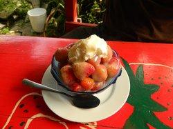Fresas Cafe