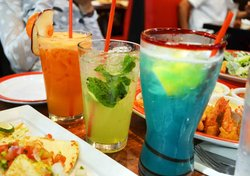 Apple Carrot Juice, Big Apple Mojito, Ultimate Electric Lemonade