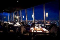 aqua shard offers diners spectacular views