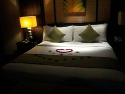 our master bedroom upon arrival