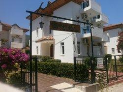 Entrance to Tolan Apartments