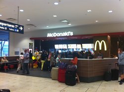 McDonalds International Arrivals Sydney